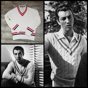 Vintage Wilson's tennis sweater